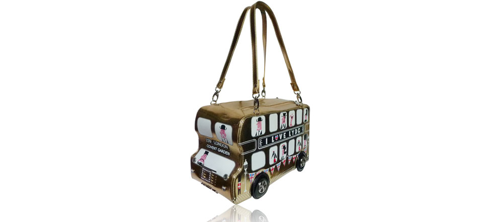 Sac original bus Londonien marron