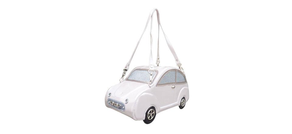 Sac original voiture blanc