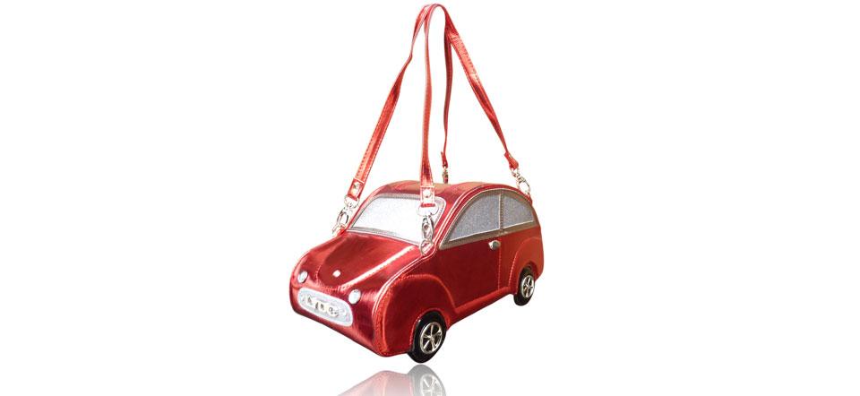 Sac original voiture rouge
