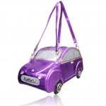 Sac a main original voiture violet