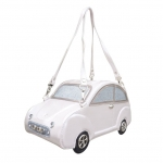 Sac a main original voiture blanc