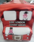Sac a main original en forme de bus de londres rouge